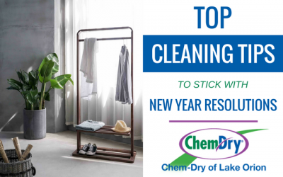 New Year Cleaning Resolutions